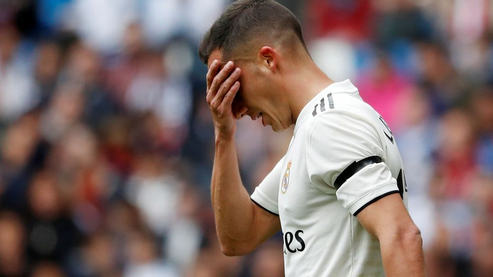 Foto: Lucas Vázquez protagonizó un enfrentamiento con Casemiro en el Real Madrid-Athletic Club. (Reuters)