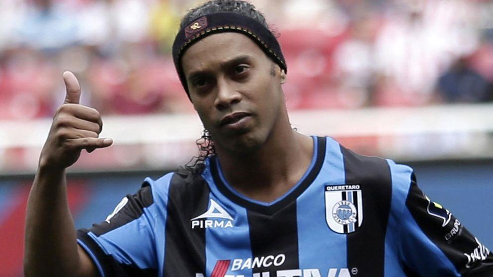 Unas vacaciones demasiado largas podrían costarle caro a Ronaldinho