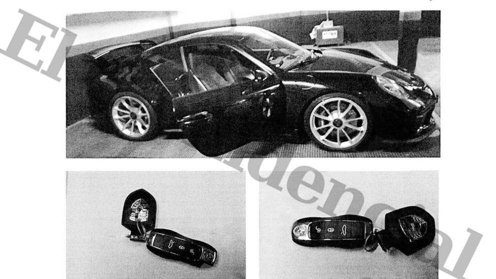 Ferrari, Porsches, hoteles de lujo y una pistola: el tren de vida del clan Villarejo