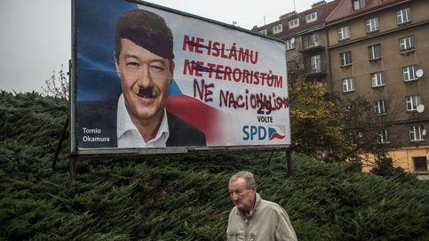Carteles electorales para las generales de República Checa