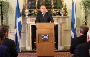 Salmond contempla la declaración unilateral de independencia