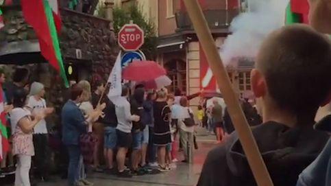 El etarra 'Baldo' sale de prisión y es homenajeado en las calles de Hernani