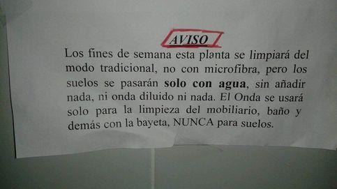 Empleadas del Hospital de León denuncian la orden de limpiar sólo con agua