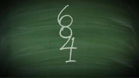 Acertijo viral: ¿cuántos números eres capaz de ver en la pizarra?