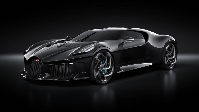 El coche más caro y exclusivo del mundo es este nuevo superdeportivo negro de Bugatti
