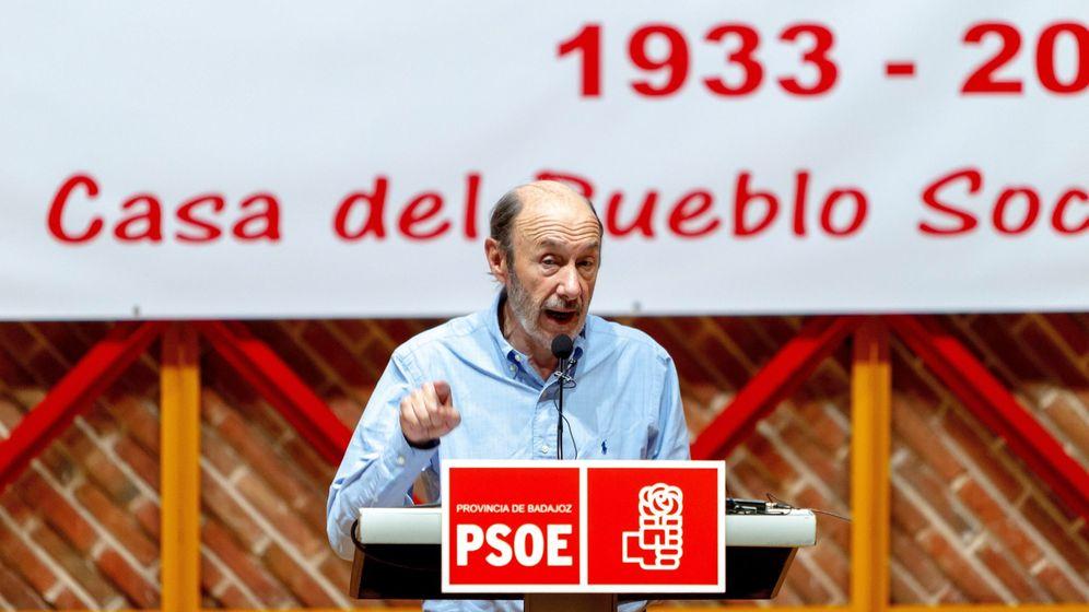 Foto: El exvicepresidente del Gobierno de España y exsecretario general del PSOE Alfredo Pérez Rubalcaba. (EFE)