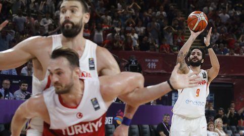 Ricky Rubio castiga el desprecio de los rivales en el EuroBasket