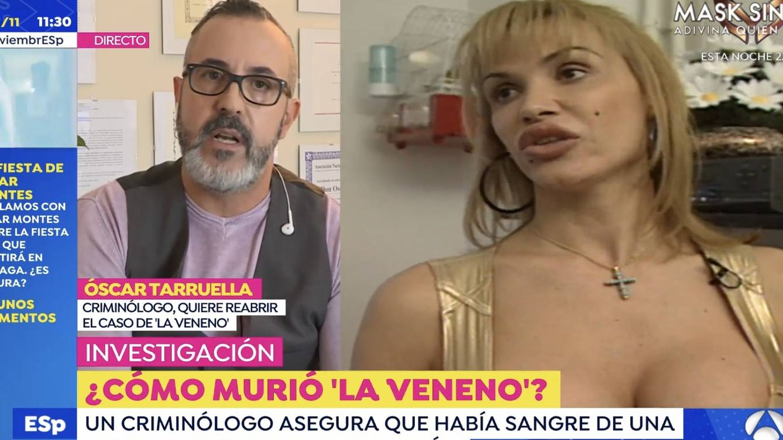 Cristina La Veneno y su muerte: 'Espejo público' llega donde 'Sálvame' corta, con Óscar Tarruella, criminólogo del caso