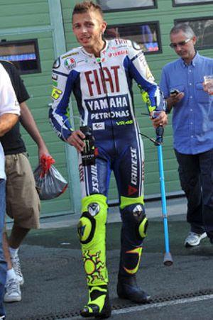 Valentino Rossi volverá a correr este domingo en el Gran Premio de Alemania