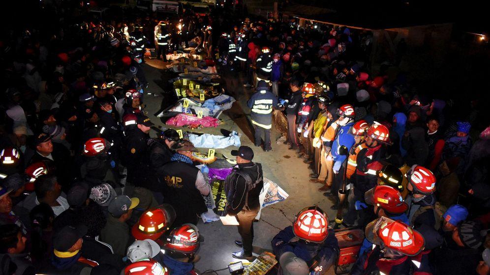Foto: Bajan a 18 los muertos y 19 heridos por un atropello en guatemala