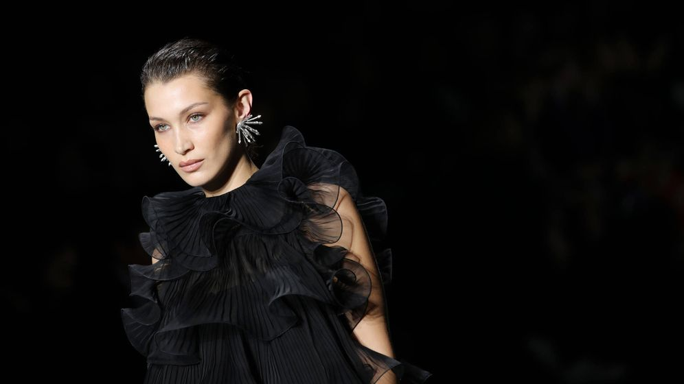 Foto: La mirada 'foxy eyes' de Bella Hadid. (Getty)