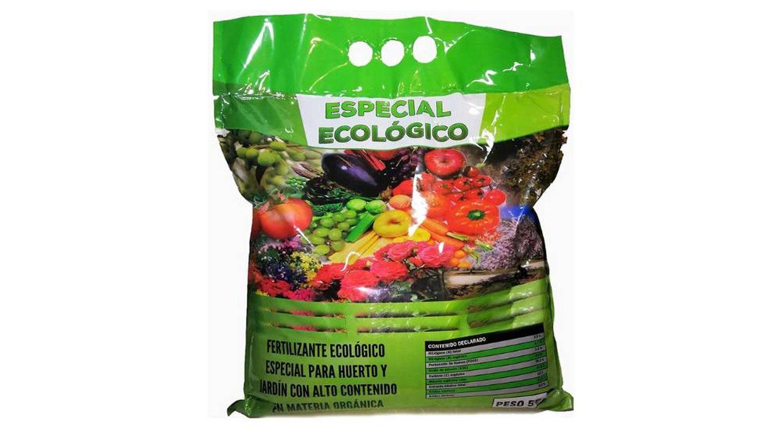 Abono ecológico orgánico con ácidos húmicos