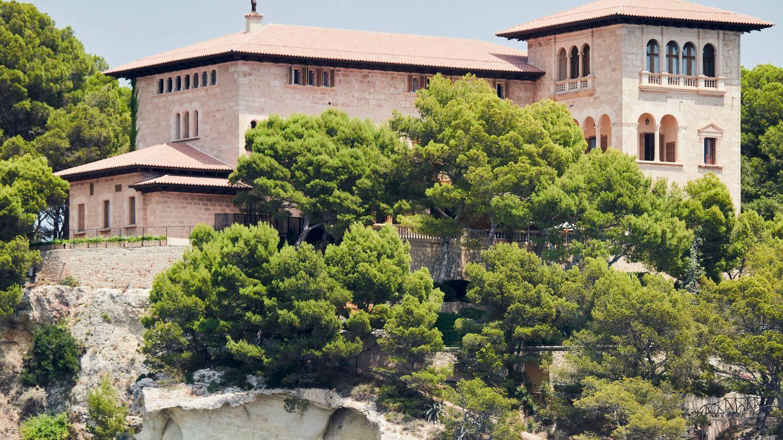 El palacio de Marivent.