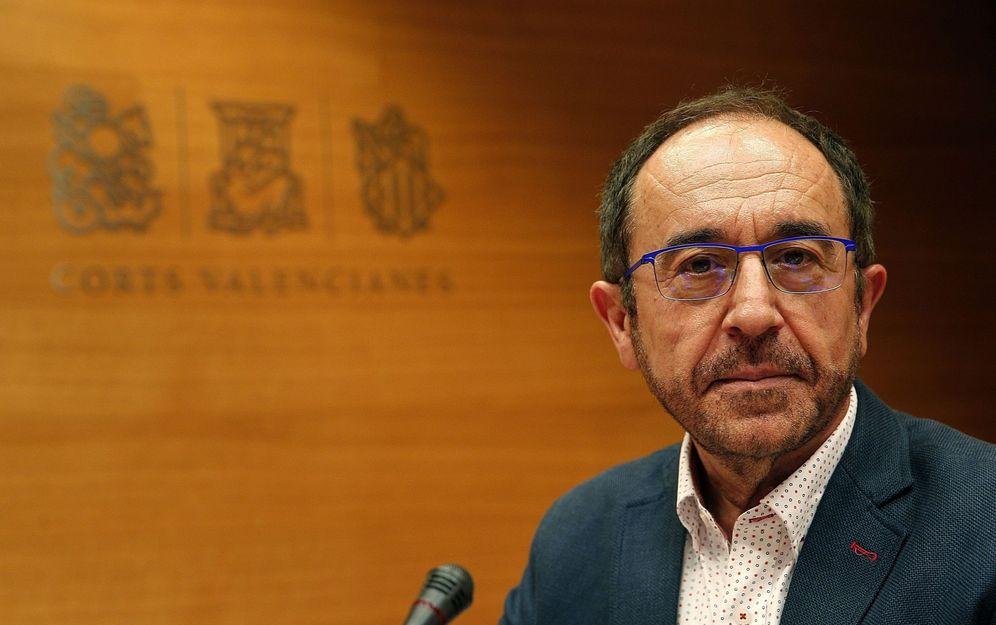 Foto: El secretario de Justicia y Nuevos Derechos del PSOE, Andrés Perelló, el pasado julio en Valencia. (EFE)