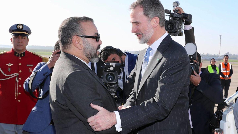 Mohamed VI y Felipe VI, en Marruecos. (Cordon Press)