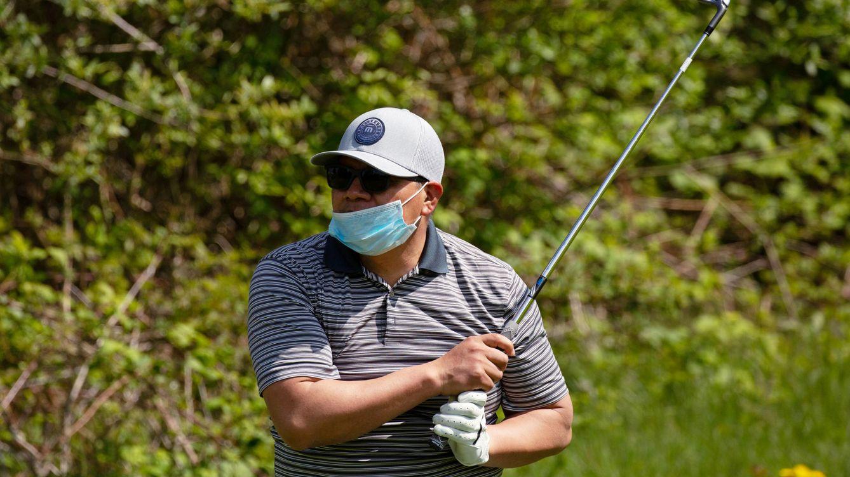 Foto: Un jugador de golf en EEUU. (Reuters)