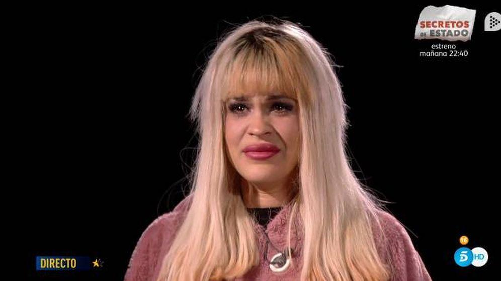 Foto: Las lágrimas de Ylenia repasando su vida en 'GH Dúo'. (Telecinco)