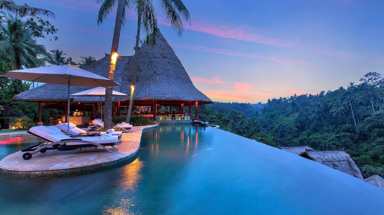 Bali es así, como este hotel.