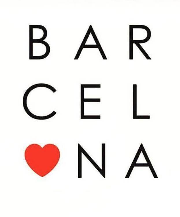 Foto: Mensajes de apoyo a la ciudad de Barcelona tras el atentado (Instagram)