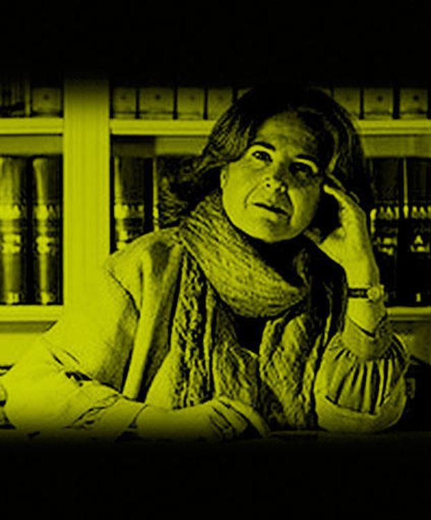 Foto: Montserrat Viñamata, en un fotomontaje de 'Vanitatis'