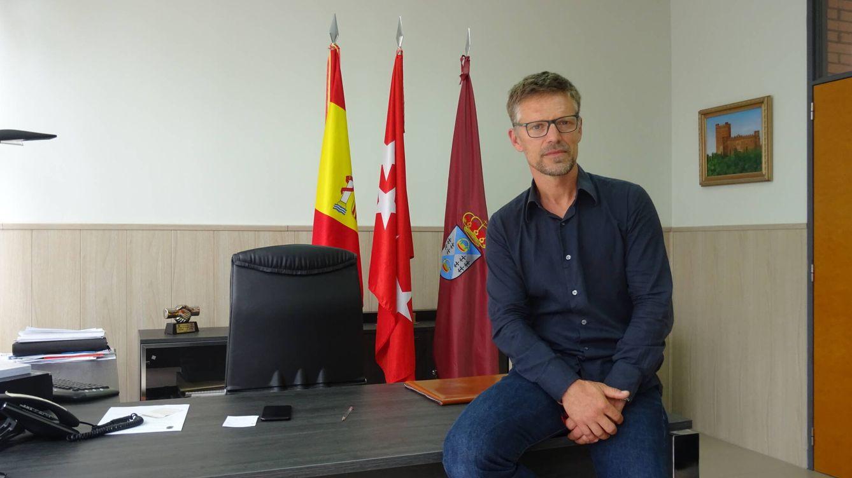 Foto: Víctor Manuel López Rodríguez, alcalde de Batres. (Israel Merino)