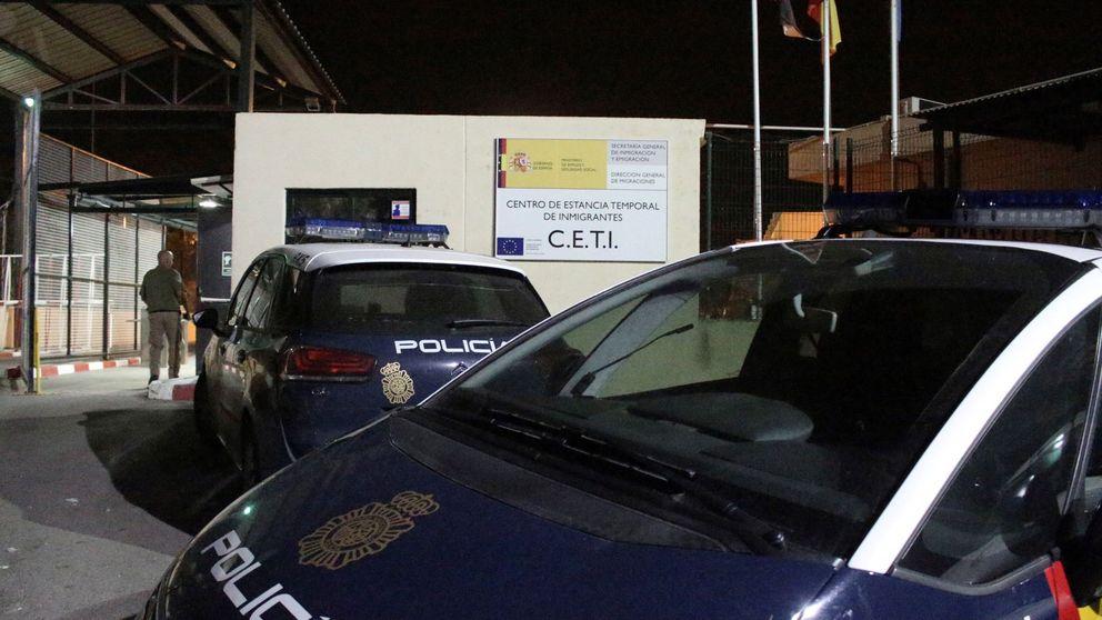 Siete inmigrantes heridos en un accidente en un 'coche patera' en Ceuta
