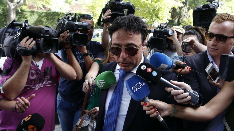 Foto: El expresidente del Granada CF Quique Pina. (EFE)