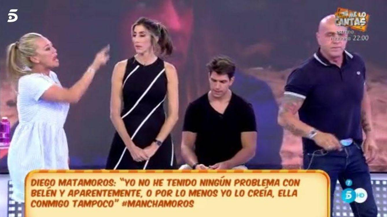 La guerra de Matamoros con Belén Esteban por no apoyar a Laura en 'Supervivientes'