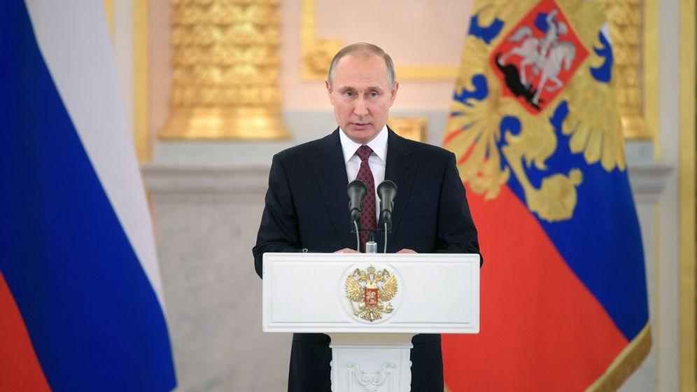 Foto: El presidente ruso, Vladímir Putin. (EFE)