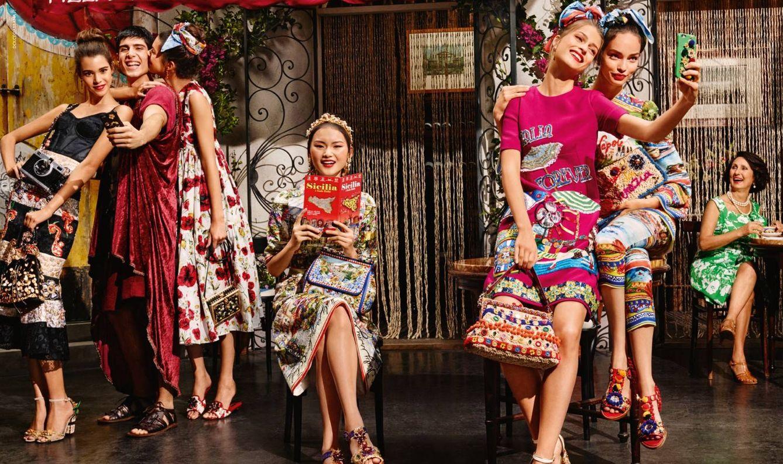 Foto: Quien hizo el móvil hizo la trampa. Hazte una foto y reinvéntate después (Foto: Dolce&Gabbana)