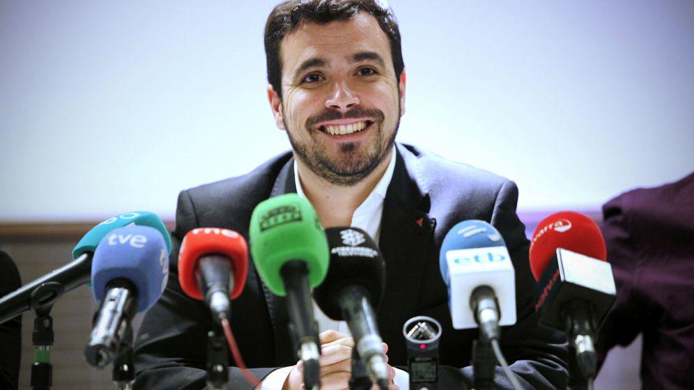 Foto: El candidato de IU-Unidad Popular a la presidencia del Gobierno, Alberto Garzón (EFE)