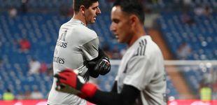 Post de Courtois por Keylor Navas: el relevo que quema en el Real Madrid