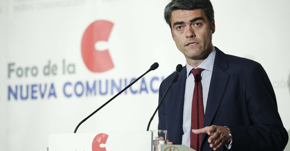 El consejero delegado de Vocento, Luis Enríquez. (EFE)