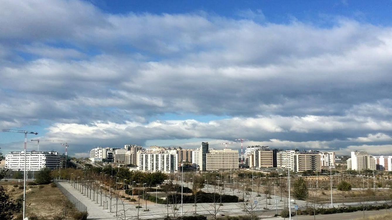 Foto: Foto tomada desde el Mirador de Valdebebas.
