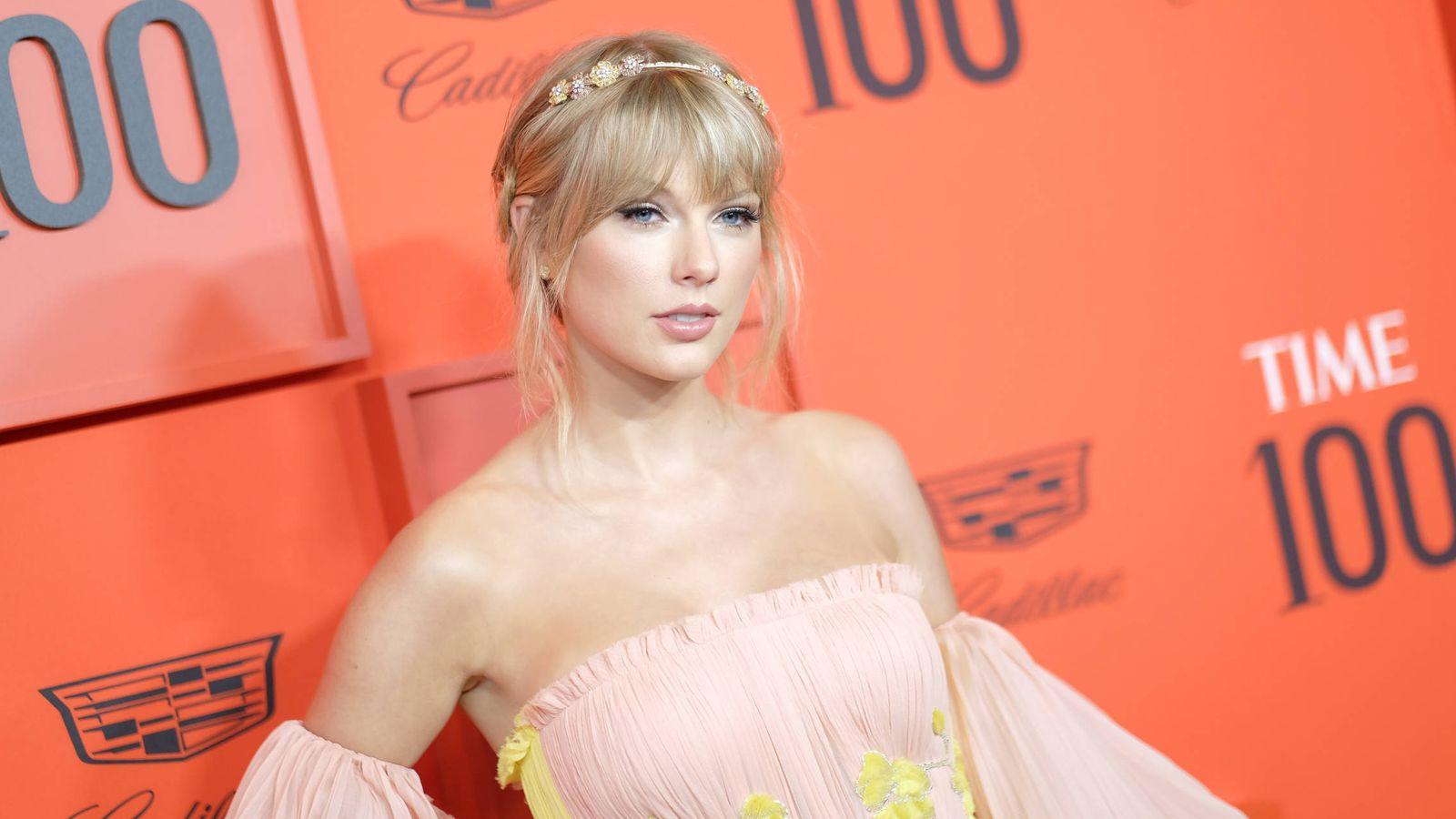 Foto: Taylor Swift en la gala de la revista 'Time' de 'Las 100 personas más influyentes del año 2019'. (Reuters)