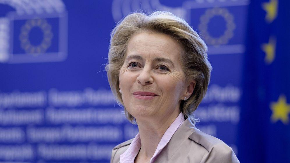 Foto: La presidenta de la Comisión Europea, Ursula von der Leyen . (EFE)