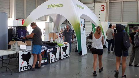 EH Bildu y los presos de ETA se adueñan de la contracumbre del G-7 de Irún