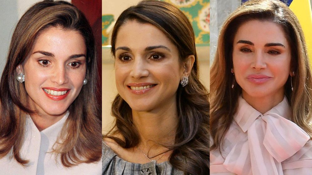 Foto: La metamorfosis de Rania de Jordania. (Reuters y Cordon Press)