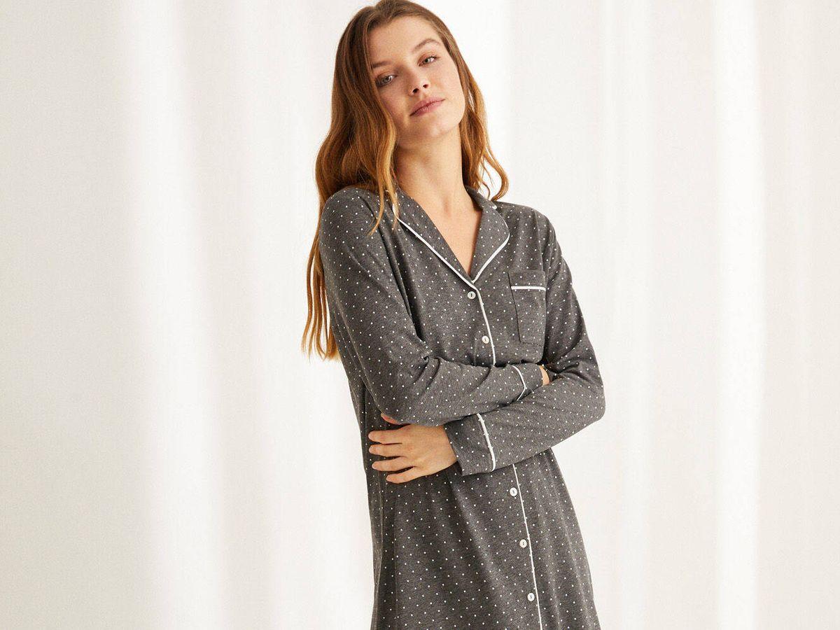 Foto: Pijama camisero de Women Secret. (Cortesía)