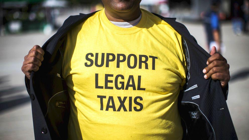 Los taxistas sobre el regreso de Uber a España: les volveremos a demandar
