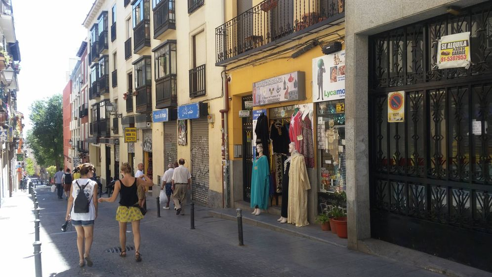 Foto: El madrileño barrio de Lavapiés, núcleo de la 'izquierda topo'.