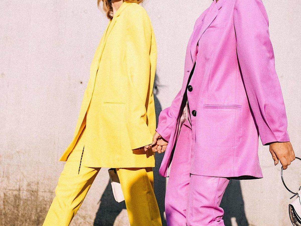 Foto: Las influencers Ángela Rozas y Aida Domenech, en Milán (Instagram)