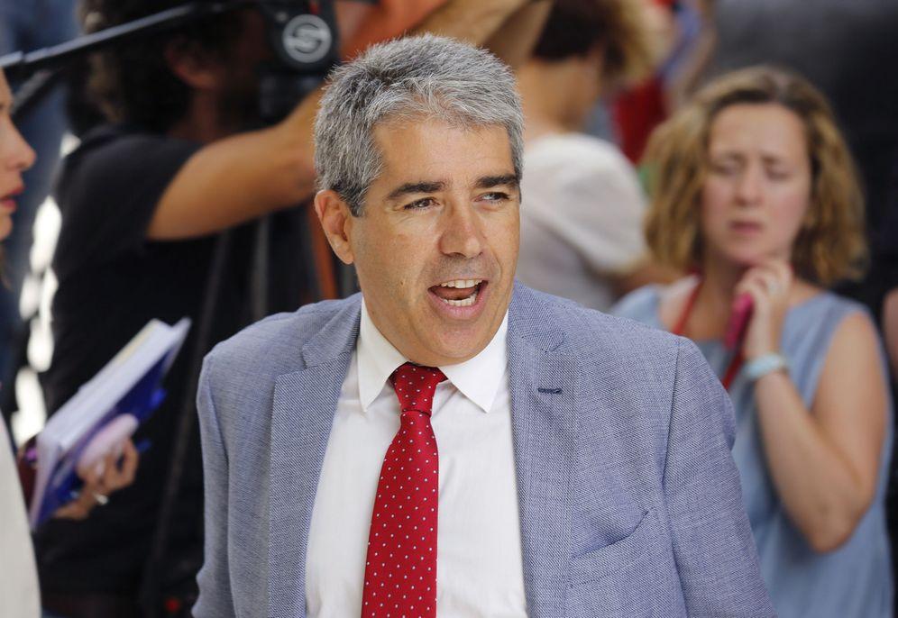 Foto: Francesc Homs, portavoz del Partit Demòcrata Català en el Congreso, el pasado 19 de julio a su salida del hemiciclo. (EFE)