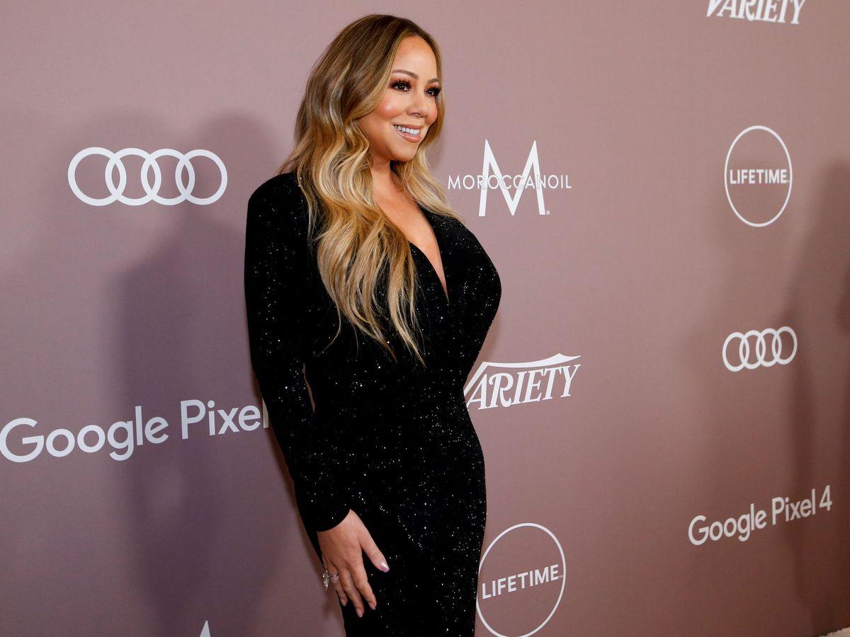 Foto: Mariah Carey, durante un acto reciente en Los Ángeles. (Reuters)