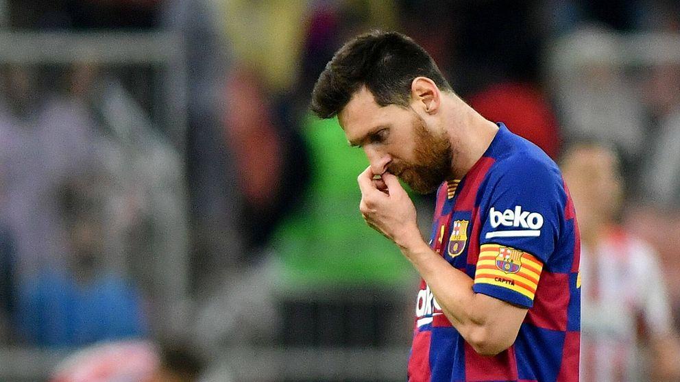 Leo Messi confiesa que no es feliz en el Barça y solo hay una cosa que le animaría a seguir
