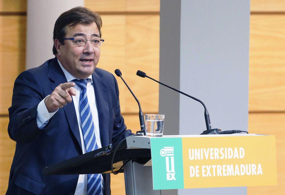 Foto: El presidente de la Junta de Extremadura, Guillermo Fernández Vara, el pasado 3 de octubre en Cáceres. (EFE)