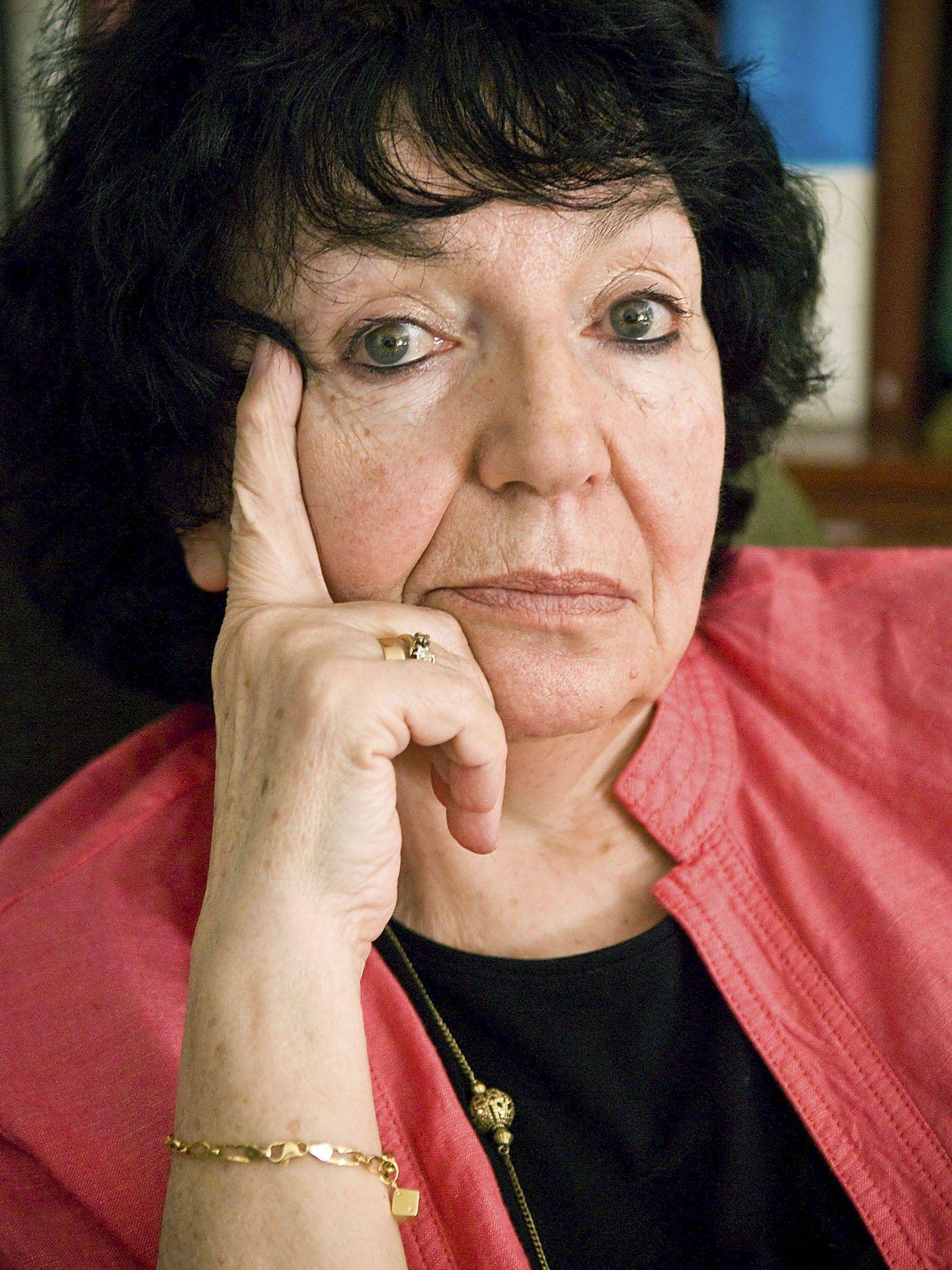 Valentina Chemberdjí, autora del libro 'Lina Prokófiev'. (EFE)