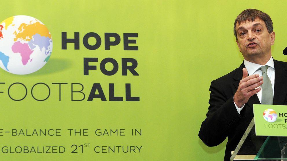 La desigualdad, principal baza del renovador Champagne ante Blatter
