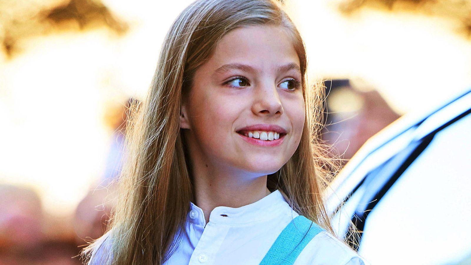 Familia Real Espanola La Infanta Sofia Cumple 11 Anos Y No No Es