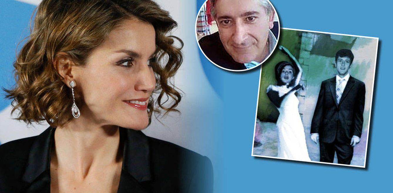 Foto: La Reina Letizia y Manuel Morán en un fotomontaje realizado en Vanitatis